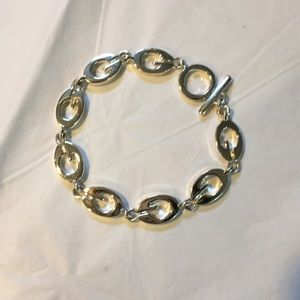 Guess G links silver toggle bracelet